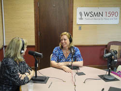 Guest Lisa Law discusses Feng Shui with Radio Host Yvonne Dunetz